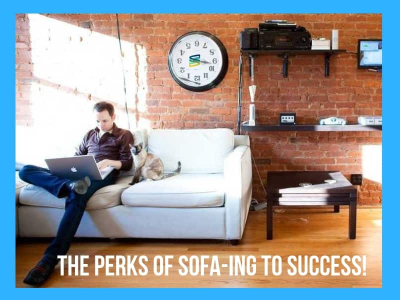 Entrepreneur, Online, Success, Sofa, Perks, Success, How-To, Started, Your
